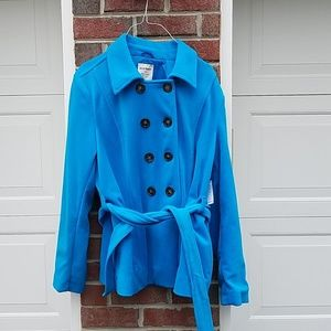 NWT Old Navy Double Breasted Fleece